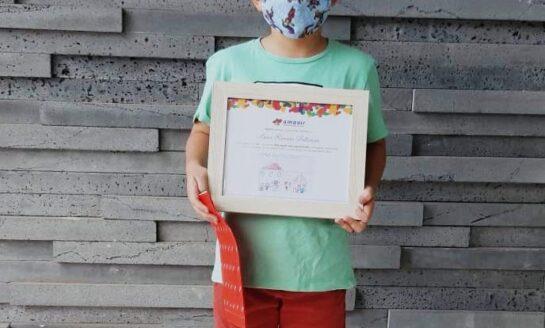 Amavir da a conocer los dibujos ganadores del concurso infantil Mis papás son Superhéroes