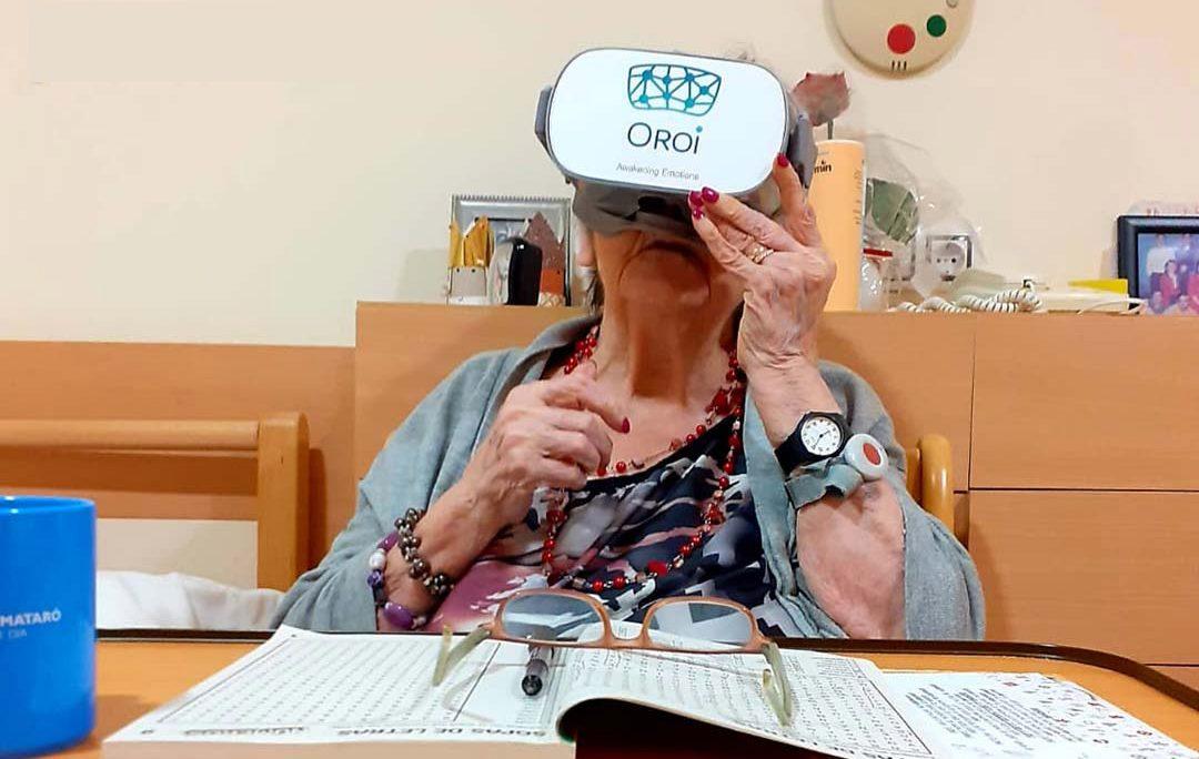 Unas gafas que son una puerta al mundo en Mirador de Mataró