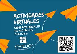 Los centros sociales de Oviedo estrenan la nueva programación de cursos virtuales