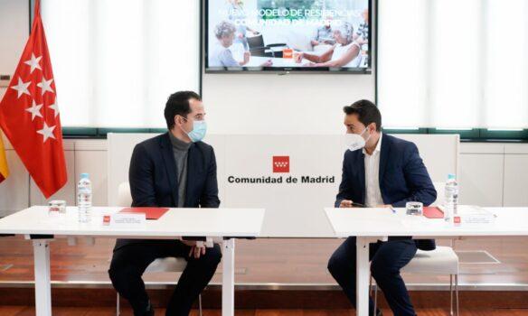 Ignacio Aguado presenta del Acuerdo Marco de residencias