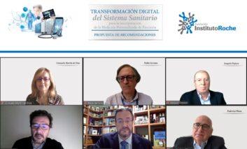 Los expertos proponen una transformación digital del sistema sanitario