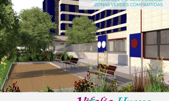 La nueva residencia de Vitalia Home en Huesca contará con un espacio destinado a los jóvenes