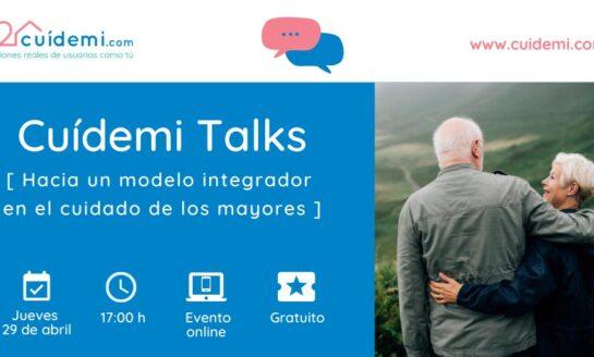 Ciclo de conferencias online Cuídemi Talks