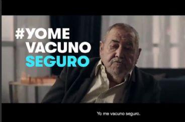 YomeVacunoSeguro, lema de la campaña de Sanidad