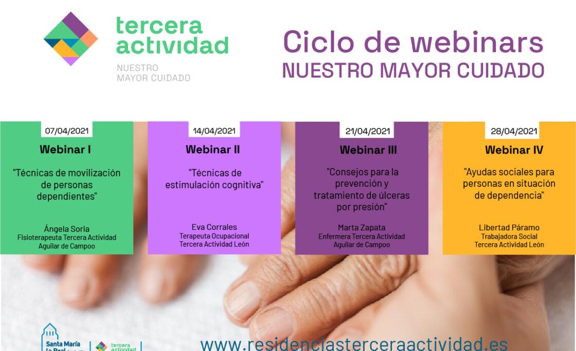 Tercera Actividad lanza un ciclo de webinars gratuitos