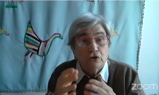 """Mirem Etxezarreta: """"La lucha de los pensionistas es la clave: la pensión es un derecho para la ciudadanía"""""""