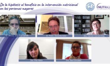 La jefe médico de Amavir participa en un webinar sobre nutrición en las personas mayores