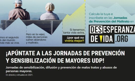 Participa en las Jornadas de Prevención sobre los malos tratos y abusos a las personas mayores de la UDP