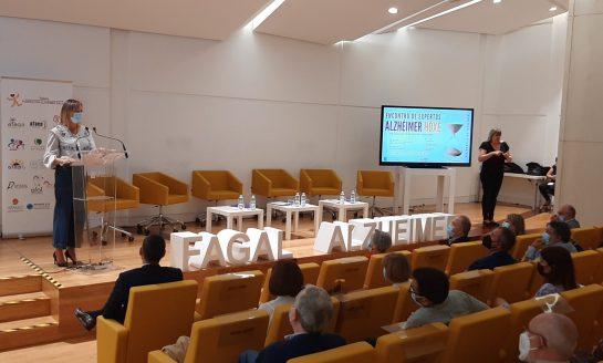 La Ciudad de la Cultura reunió a expertos del campo de las demencias en el Encuentro Alzhéimer HOXE