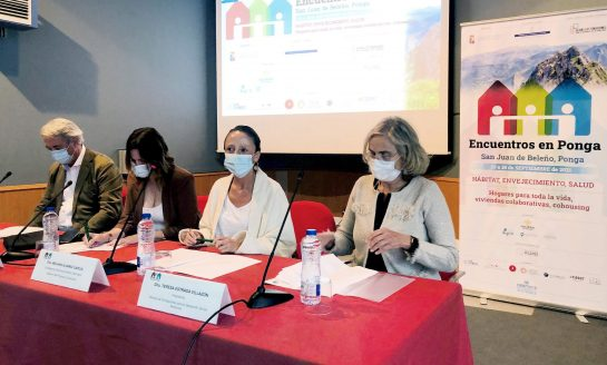 Encuentros en Ponga sobre espacios colaborativos