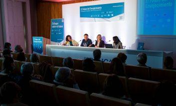 Fabiola García señala los centros intergeneracionales y el voluntariado senior como herramientas útiles para proyectos en común